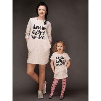 Sukienki dla mamy i córki Dziewczyny rządzą