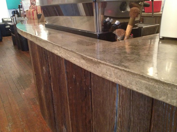Concrete Countertops Materials Needed : ... Concrete Countertops on Pinterest Stains, Colors and Concrete