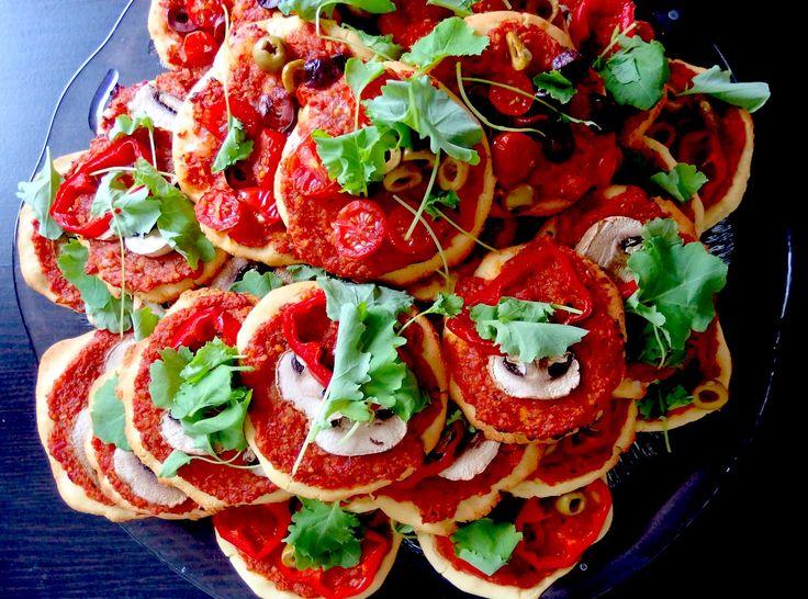 Luontaisesti gluteeniton vegaaninen hernerouhepizza
