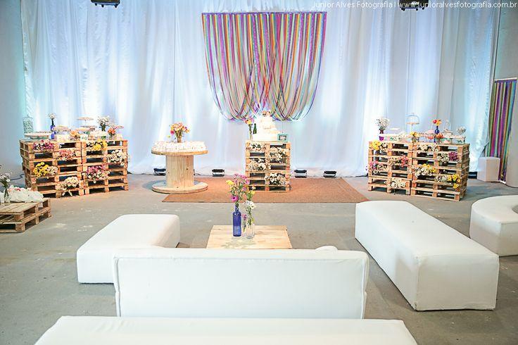 casamento colorido rústico   colorful wedding