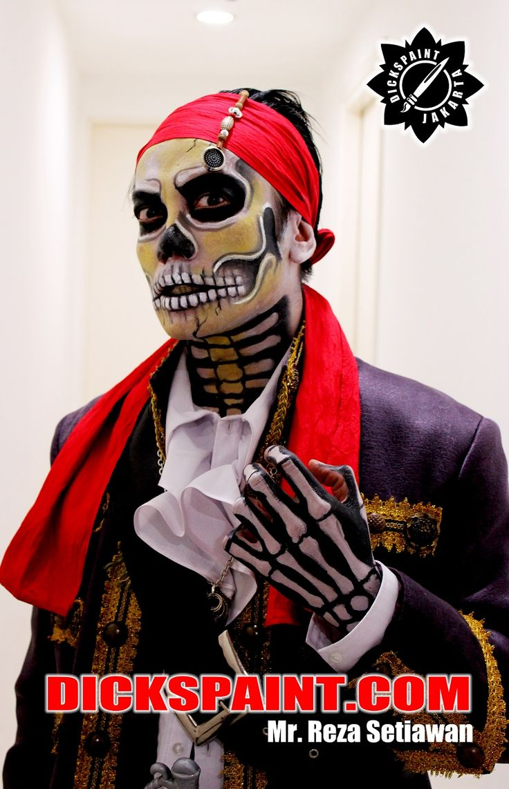 Make Up : Pirates Of The Caribbean Skull Halloween make Up 2015 Mr. Reza Setawan‪  #‎facepaintingjakarta‬ ‪#‎makeuphalloweenjakarta‬ ‪#‎makeuphorrorjakarta‬ ‪#‎makeupjakarta ‪#‎makeupzombiejakarta‬ ‪#‎zombiedeath‬ ‪#‎walkingdeath‬ ‪#‎dickspaint‬ ‪#‎facepaintinghalloweenjakarta‬ ‪#‎facepaintinghorrorjakarta‬ ‪#‎skullface‬ ‪#‎makeupskull‬ ‪#‎pirates‬ ‪#‎piratesofthecaribbeanskull‬ ‪#‎piratesdeath‬