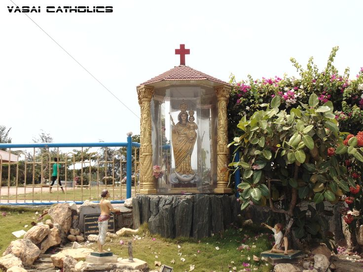 Grotto of Our Lady of Health in the premises of the Shrine
