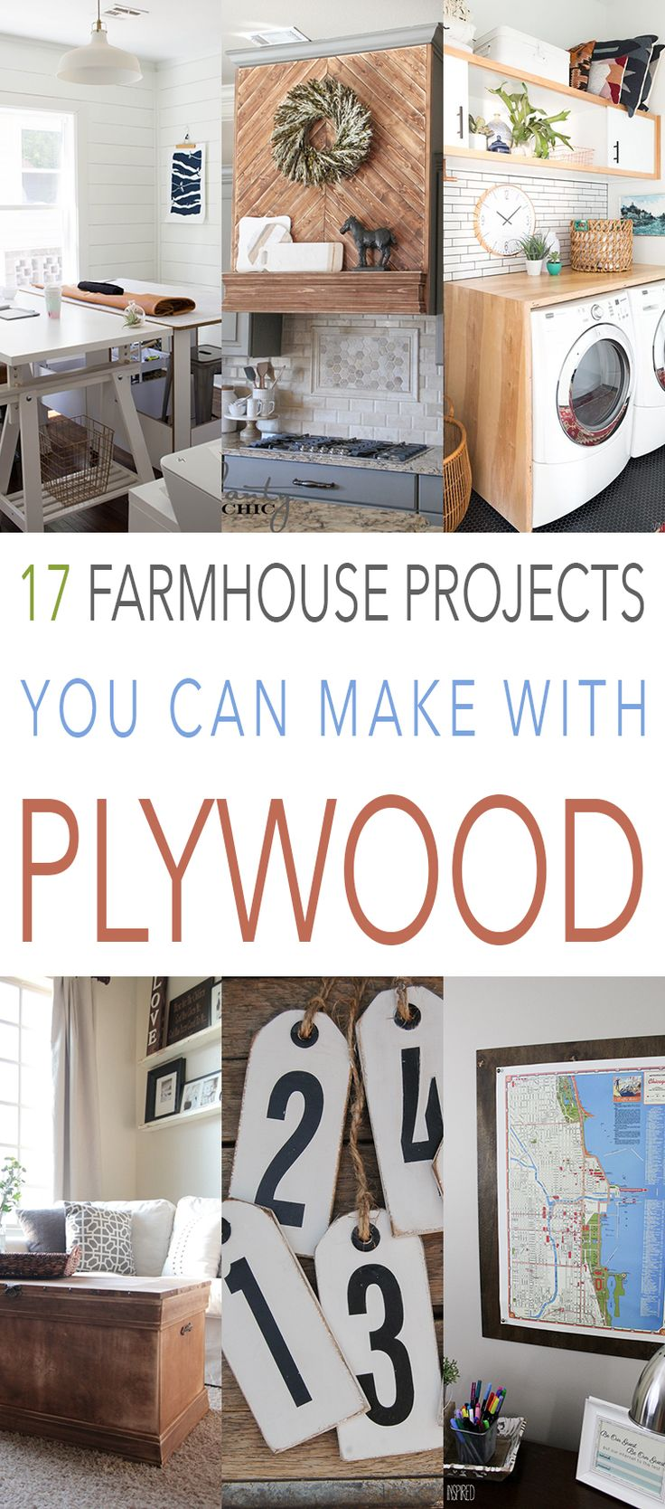 17 Farmhouse Projects You Can Make With Plywood