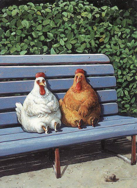 Rudi Hurzlmeier-How urban chickens roost.
