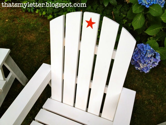 Build: kids adirondack chairs