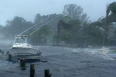 Hurricane Frances  -  Ft. Pierce Beach and Vero Beach, Florida