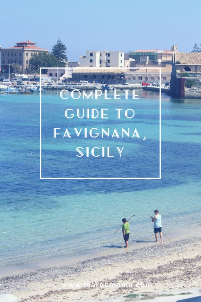 Don't miss a thing in Favignana, Sicily with this ultimate guide to experiencing the city. Where to stay, what to see and do, what to eat and drink, and more!