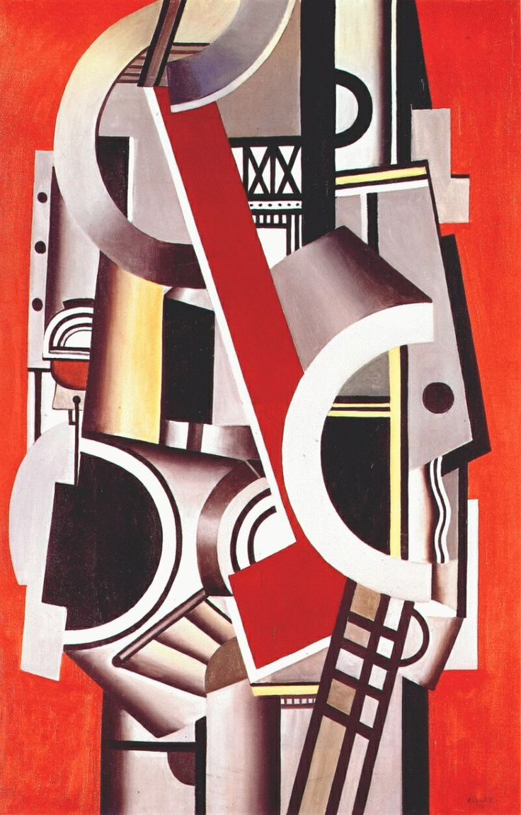 Fernand Leger  (French, 1881-1955)  Machanical Elements, 1924 http://fineart.elib.com/fineart.php?showpic=1=Movement%2FOrphist=Site_index%2FOrphist%2FLeger_Fernand=Site_index%2FOrphist%2FLeger_Fernand%2Fleger_mechanical_elements_1924.jpg=1