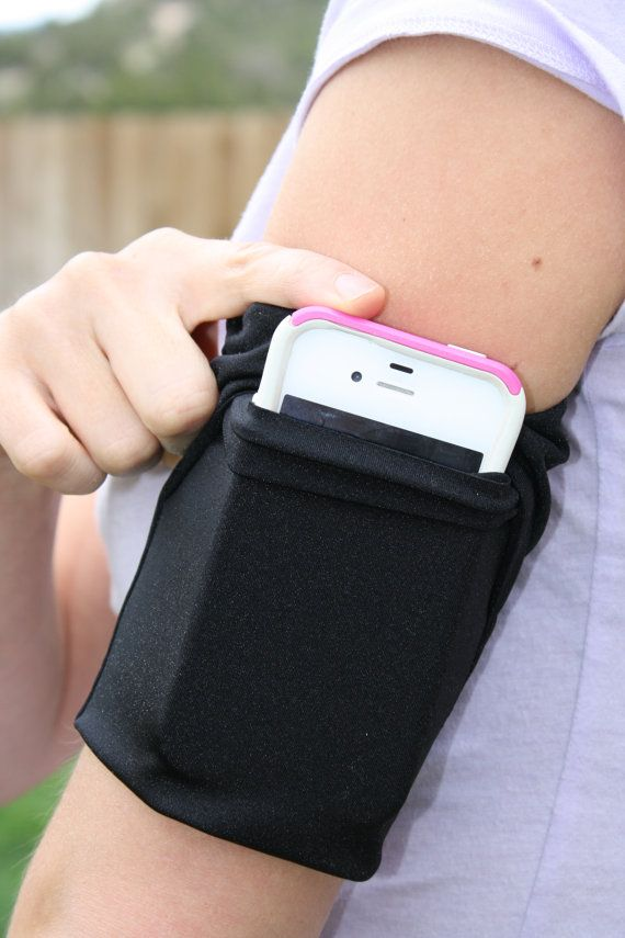 Cell Phone Armband Running Sleeve Fitness Jog by Speedzter on Etsy