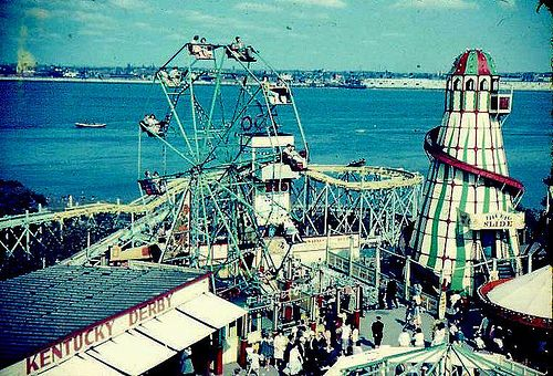 fairground in the 1960`s new brighton | Flickr - Photo Sharing!