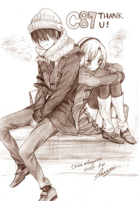 Assassination Classroom (暗殺教室) - Ryuunosuke Chiba x Rinka Hayami (ChiHaya) (千速) -「【千速】Eyes ONLY【漫画】」/「Aya」の漫画 [pixiv]