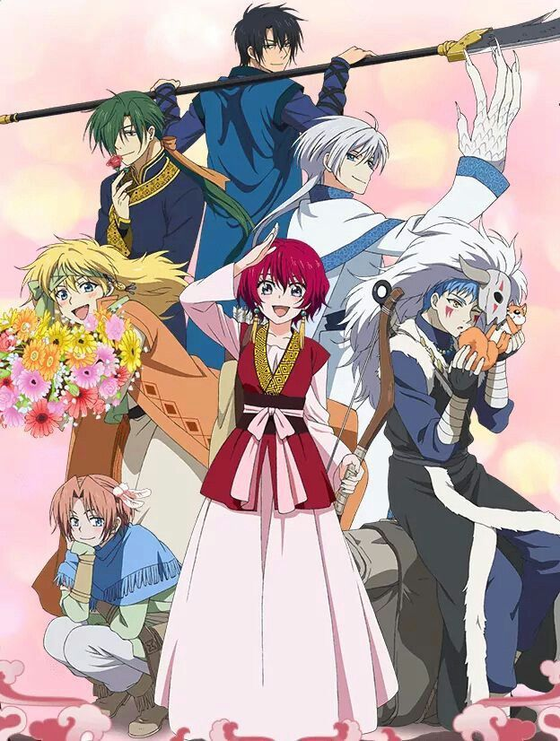 Image result for akatsuki no yona