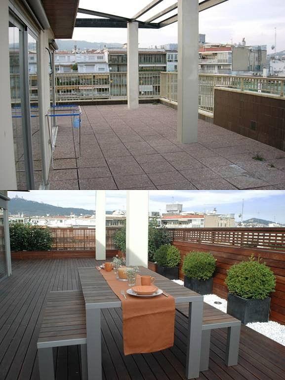 como decorar terrazas de aticos