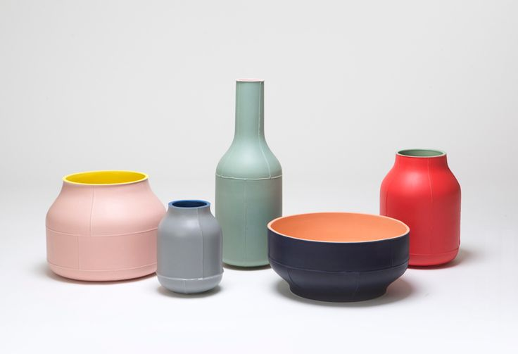 benjamin hubert manipulates ceramic manufacturing in seams collection