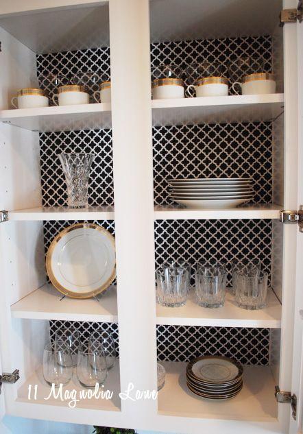 25 best ideas about plain black wallpaper on pinterest for Best shelf paper for kitchen cabinets