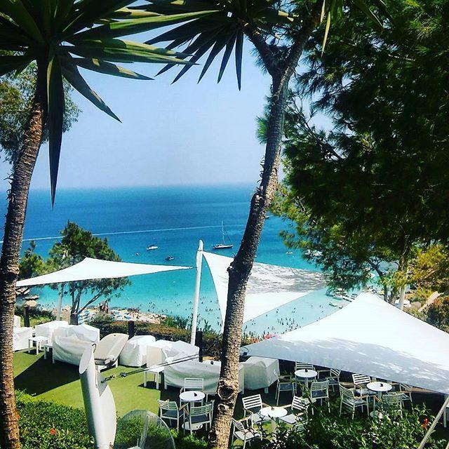 Cliff Bar views from @smileconx ! #grecianpark #protaras #cyprus #cliffbar #amazingviews #goodmorning