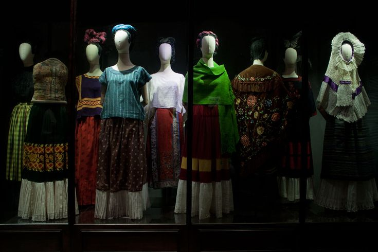 """Looks Can Be Deceiving: Frida Kahlo Dresses"" - TheQuiltShow.com"