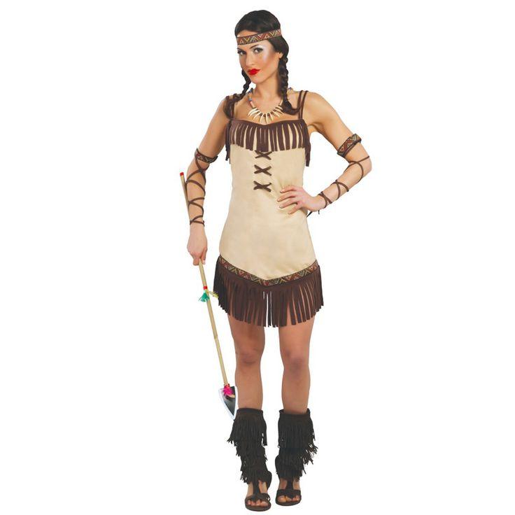 disfraz mujer india casero