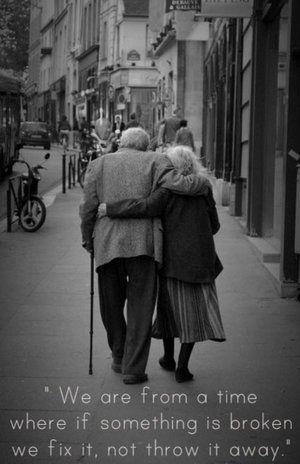 Op deze manier oud worden met je geliefde