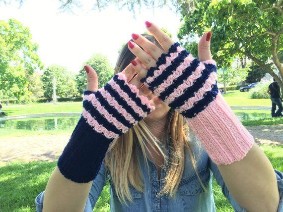 Fingerless Gloves Mittens Knit Fingerless gloves Boho