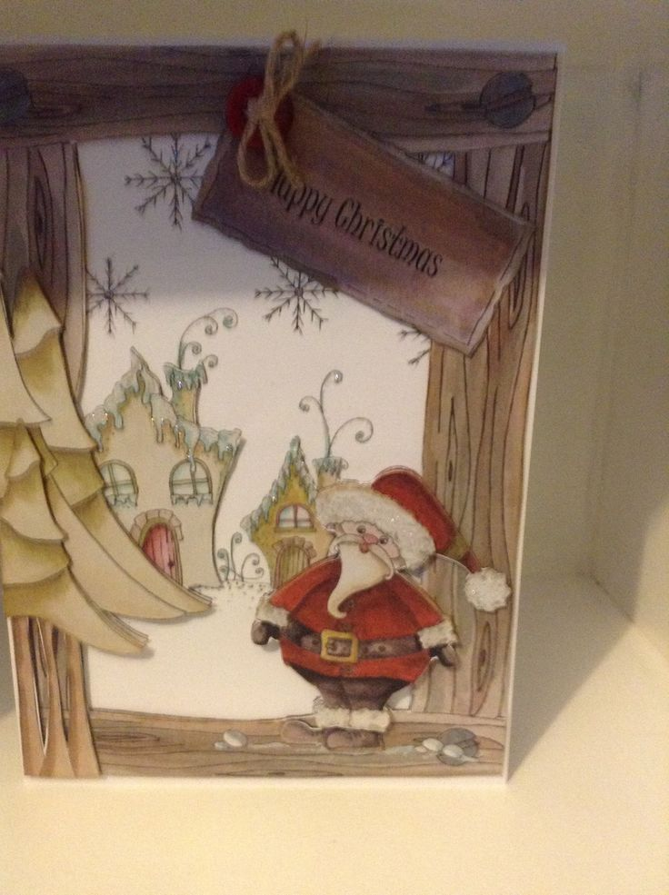 A5card using Fabulous Christmas CD from House of Zandra
