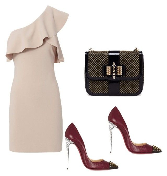 Untitled #3264 by loveparis7 on Polyvore featuring polyvore fashion style Elizabeth and James Christian Louboutin clothing