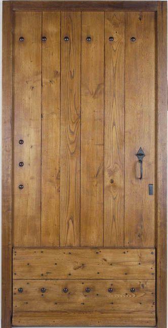 22 best images about fabrication porte d 39 entr e en bois on - Repeindre une porte d entree en bois ...