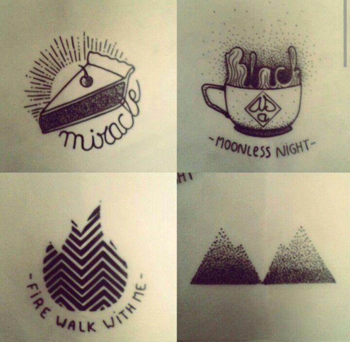 Twin Peaks minimal by birdy_owen
