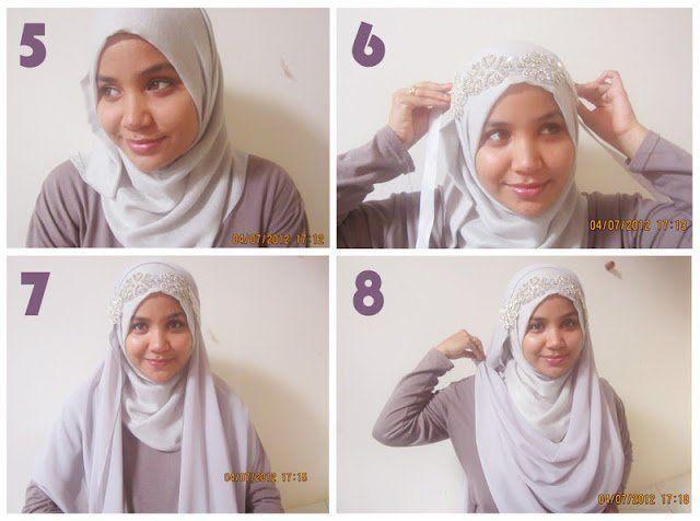 Tutorial Hijab Syar I Pengantin Blog Lif Co Id