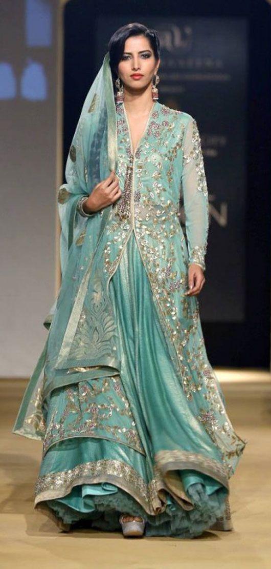 Sneak Peek: Old Delhi Inspires Ashima & Leena http://www.al-design.in/ Collection for India Bridal Fashion Week Nov 29, 2013 on