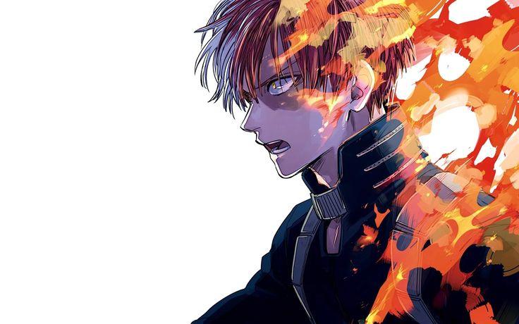 todoroki Heroe, Dibujos anime manga, Dabie