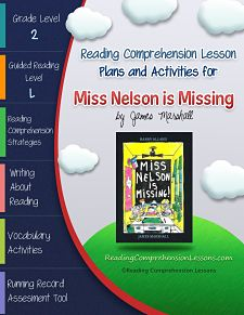 This lesson plan activity package for Miss Nelson is Missing comes ...