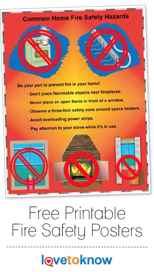 Home hazardous materials fire safety pictures