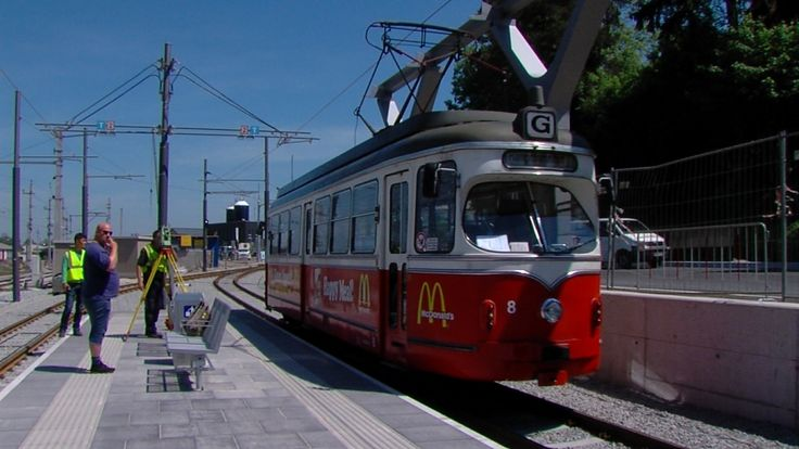 Straßenbahneinbindung Bahnhof Gmunden