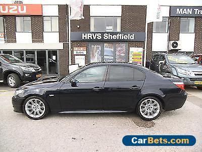 2008 08 BMW 5 SERIES 2.0 520D M SPORT AUTO DIESEL VGC  12MONTHS MOT #bmw #520 #forsale #unitedkingdom