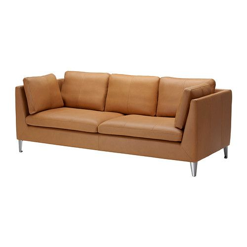 STOCKHOLM Sofa IKEA Highly durable full-grain leather which is soft and has a natural look and feel. $1799