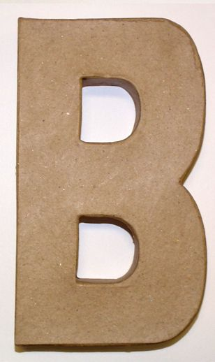 Paper Mache Letters | Days to Remember - Craft Superstore