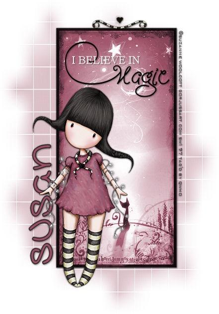 """I believe in magic."" Suzanne Woolcott   Gorjuss http://www.fromtheheartpostcards.com/MyPSPTags/sw-ibelieveinmagic.jpg"