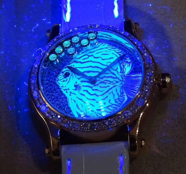 #Chopard Happy Fish Métiers d'Art - de noche