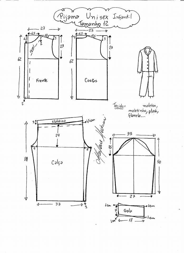 Mejores 7 imágenes de шитье en Pinterest | Patrones de costura ...