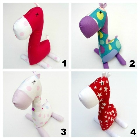 GIRAFFE JINGLES $15.00    These are the perfect gift for newborns or little bubs!    They're a great size (approximately 20cm tall) and are sure to keep baby amused with a jingle in their tummy to make them squeal with delight.    Supplier: Monkey & Bear