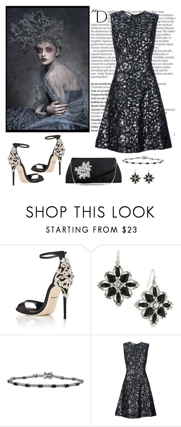 """""""Untitled #986"""" by gallant81 ❤ liked on Polyvore featuring Dolce&Gabbana, 1928, Journee Collection, Balmain and Oscar de la Renta"""