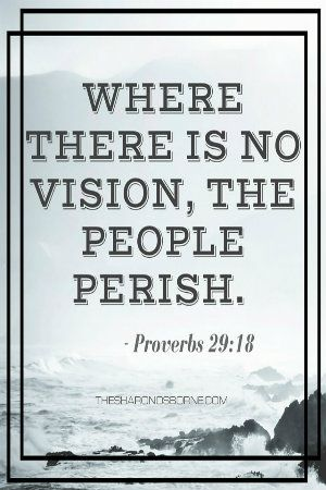 where there is no vision the people perish essay Essay about where there is no vision, the people perishwhere there is no vision, the people perish when this topic first comes.