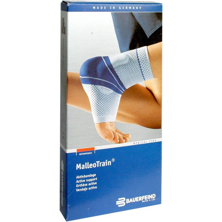 MALLEOTRAIN Sprunggelenkb.links Grösse 3 natur: Bandage für das Sprunggelenk:Postoperative und posttraumatische Reizzustände (z.B. nach…