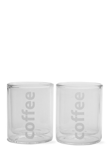 Viva Double Wall Coffee Glass - Set of 2 by Mix & Match Kitchen Updates on @HauteLook