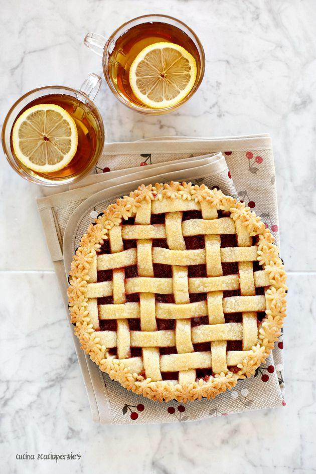 Cucina Scacciapensieri: Crostata alle fragole e ricotta con tutorial per…