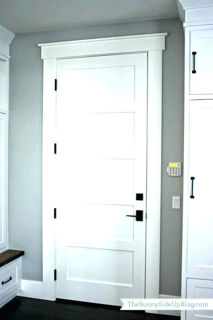 Craftsman Style Interior Doors Mission Chair Rail Molding This Door Trim Best Ideas On I Farmhouse Interior Doors Interior Door Trim Door Handles Interior