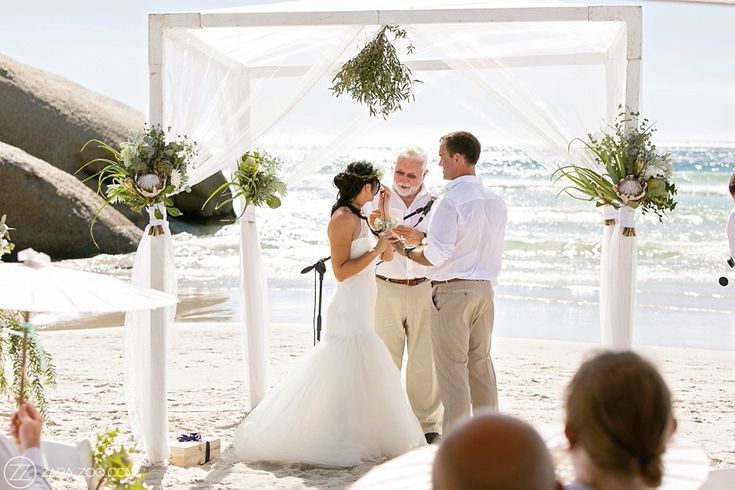 Wedding at Cape Point Vineyars - Beach wedding