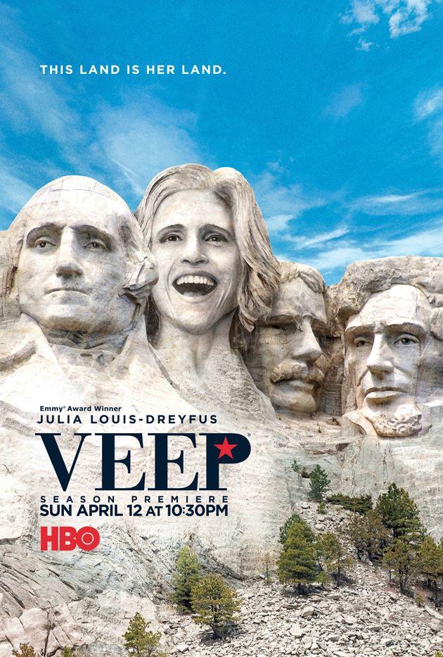Veep Season 4 (HBO, Sunday nights)