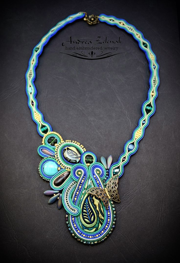 Soutache necklace S0271